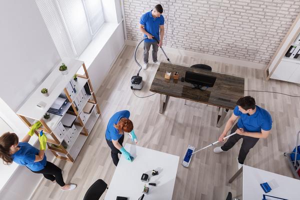 Premium office cleaning services in Dubai