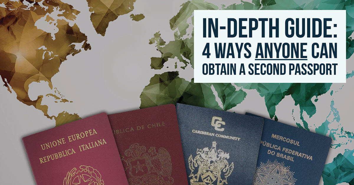 Acquiring second citizenship is a good idea – here is why