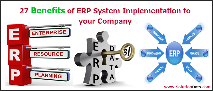 Key benefits of ERP Software Solution for Companies